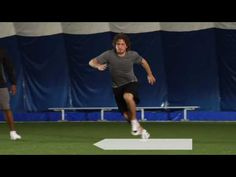 Hockey Off-Ice Training Drill #4: Multi-directional Movements for Speed