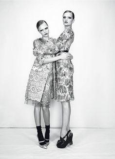 BEST IN CLASS | Emma Summerton #photography | W Magazine Jan 2012