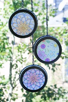 Easy Sun Catchers you can make yourself