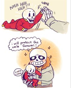 Baby Papyrus is so fricking adorable ^○^