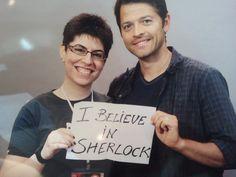 castiel believes in sherlock