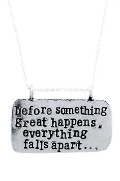 """""""Hold It Together"""" Pendant Necklace by Alisa Michelle on @HauteLook"""