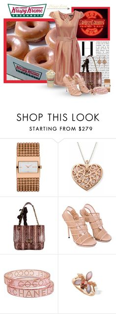 """""""Krispy Kreme Donuts!"""" by lisa-arnold-holden ❤ liked on Polyvore featuring DKNY, Mother, Lanvin, Gucci, Chanel, Mother of Pearl and Christian Dior"""