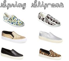 f5906189915b15 The  It  Shoe for Spring  Slip-on Sneakers