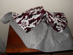 Texas A&M TAMU Aggies lap or baby or toddler by HomemakersHelper, $29.99