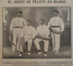 El juego de pelota en Bilbao