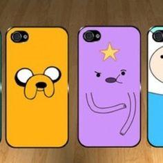 Adventure time phone cases