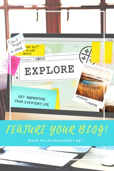 Get your blog featured!