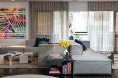 20 sofás super confortáveis e espaçosos