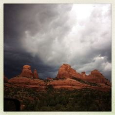 Cooling off in the clouds!  (Thanks @rcpphoto)  (Taken with Instagram at L'Auberge de Sedona)