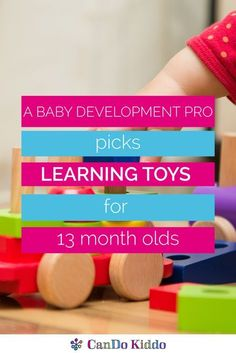 At around 13 months, your kiddo is a little bit of both! Discover 13 month old developmental skills and toys to engage them through play. Baby Learning Toys, Educational Toys For Toddlers, Infant Sensory Activities, Baby Sensory, Best Toddler Toys, Best Kids Toys, 13 Month Old Milestones, Minimalist Parenting, Activities For 1 Year Olds