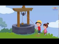 ▶ Jack And Jill Nursery Rhyme Animation Song With Full Lyrics - YouTube