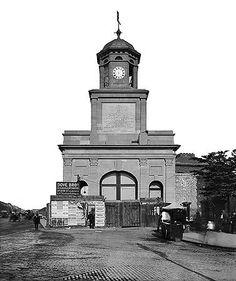 East India Dock Gateway, East India Dock Road, May 1914