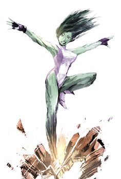 She-Hulk by naratani.deviantart.com on @DeviantArt