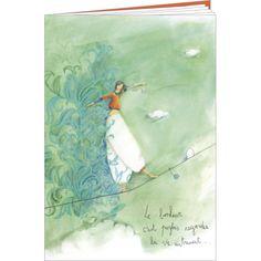 """Anne-Sophie Rutsaert carnet (48 pages lignées) """"Le bonheur c'est parfois..."""""""