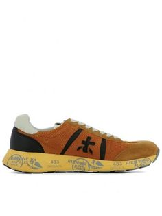 Premiata Orange SNEAKERS. Shop on Italist.com