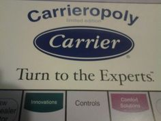 Carrieropoly Factory Sealed Limited Edition Board Game Carrier Air Conditioning