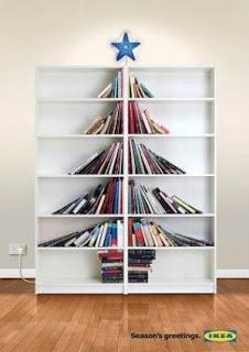 7 Árvores de Natal feitas com livros (fotos) - Util Dicas | Dicas e Truques úteis