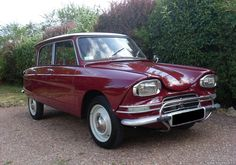 Citroen Ami-6. Strange and wonderful, the Citroen AMI was another non-conventional approach by Citroen. The unusual but clever Bertoni style only underscores the comfort/value ratio this car offered. The AMI was appreciated for what it still is; a sound and comfortable economy sedan..