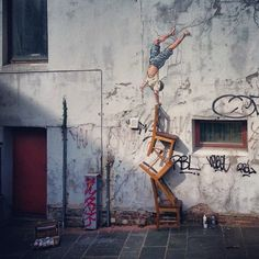 New piece for Nuart 2013, Stavanger - Ernest Zacharevic Lustik:  twitter | pinterest | etsy