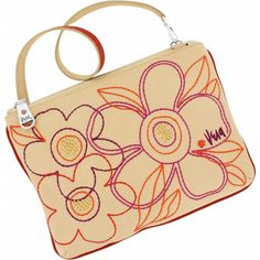 Vera by Brighton Tropics Pouch. To purchase call NCH Galleries at (951)734-5989