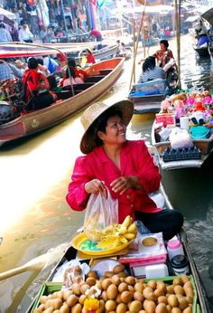 Philippines after a strong tropical depression, looks like Thailands floating market :)