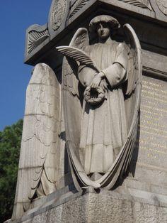 Florence Nightingale Memorial, English Cemetery, Scutari, Turkey Close up.