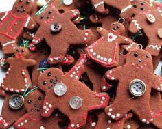 No-Bake Cinnamon Shapes for Ornaments