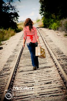 Senior Pictures always wanted a train track pic
