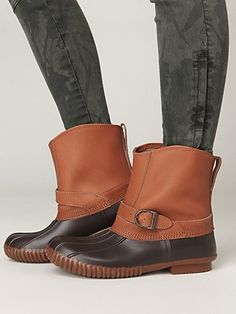 free people pull on duck boot <3