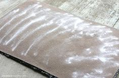 how to remove urine smell from carpet, cleaning tips, flooring, Sprinkle the rug or carpet with baking soda