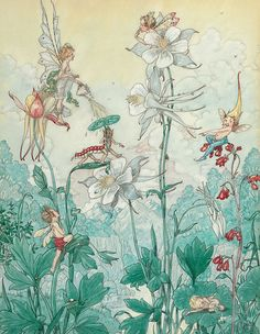 "Harold Gaze, ""Fairies at Play"""