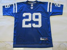 NFL Indianapolis Colts Joseph Addai #29  NWT Replica Jersey By Reebok Men L #Reebok #IndianapolisColts