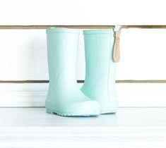 SweetHoney - Rain Boots - Aqua