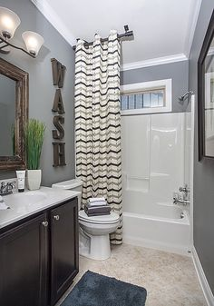 Discover custom homes from Schumacher Homes, the leading on your lot custom home builders. We build new homes designed especially to fit your needs. Teen Bathroom Decor, Teen Bathrooms, Small Bathroom Paint, Hall Bathroom, Bathroom Kids, Shared Bathroom, Bathroom Renos, Kids Bath, Dream Bathrooms
