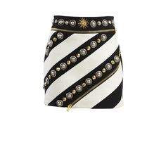 Fausto Puglisi Skirts ($935) ❤ liked on Polyvore featuring skirts, mini skirts, black, mini skirt, short mini skirts, black miniskirt, black skirt and short skirts