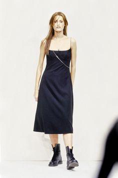 Perry Ellis Spring 1993 Ready-to-Wear Fashion Show - Christy Turlington Burns–