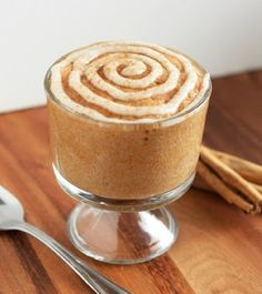 Cinnamon Roll In A Cup