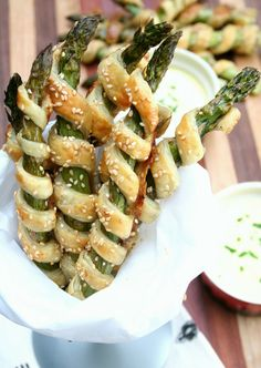 Puff Pastry Wrapped Asparagus                                                                                                                                                                                 More