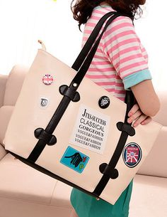 $8.77 New Fashion Arrival Printing Leisure Shoulder Bag