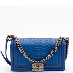 Chanel Python Old Medium Boy Flap Bag Brand new with dustbag and card of authenticity. Made in Italy. CHANEL Bags Shoulder Bags