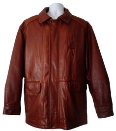A Leather Car Coat Is A Great Winter Choice. #Peacoat ...