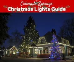 The holiday season is here again, and there is no better way to celebrate than to take a Christmas lights tour around Colorado Springs!    We've updated our popular Colorado Springs Christmas Lights Guide again this year with must-see areas, highlighted some hot cocoa & coffee stops along the way, and added a fun scavenger hunt.