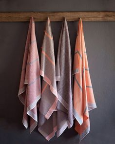Mungo towels and grey wall