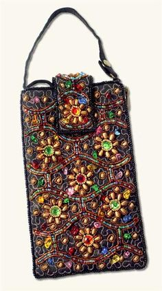 BEJEWELED CELL PHONE CASE @ Victorian Trading Co