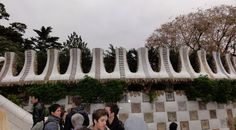 More Park Guell in Barcelona
