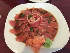 Siam Thai and Sushi, North Fort Myers, Florida  Tuna Tataki