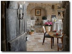 I want to be in this room right now.  French Provence Style - La Mas Fougairolles