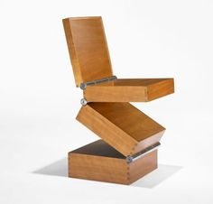 A prototype of Ron Arad's, Box in Four Movements has sold for $23,750 at the recent Important Design auction at Wright in Chicago.