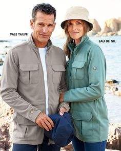 Cargo Jersey Jacket at Cotton Traders